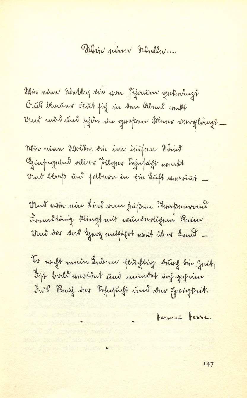 Gedicht zum geburtstag hesse
