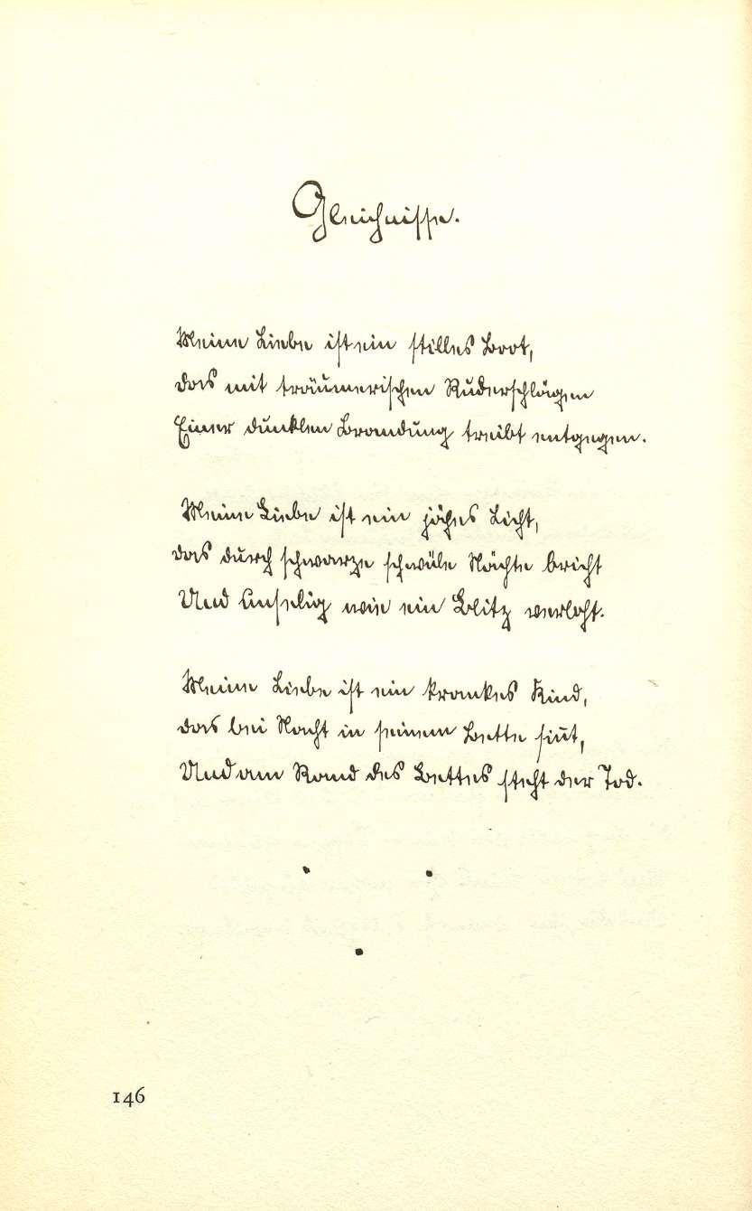 Gedichte Von Hermann Hesse Und Jedem Anfang Wohnt Ein