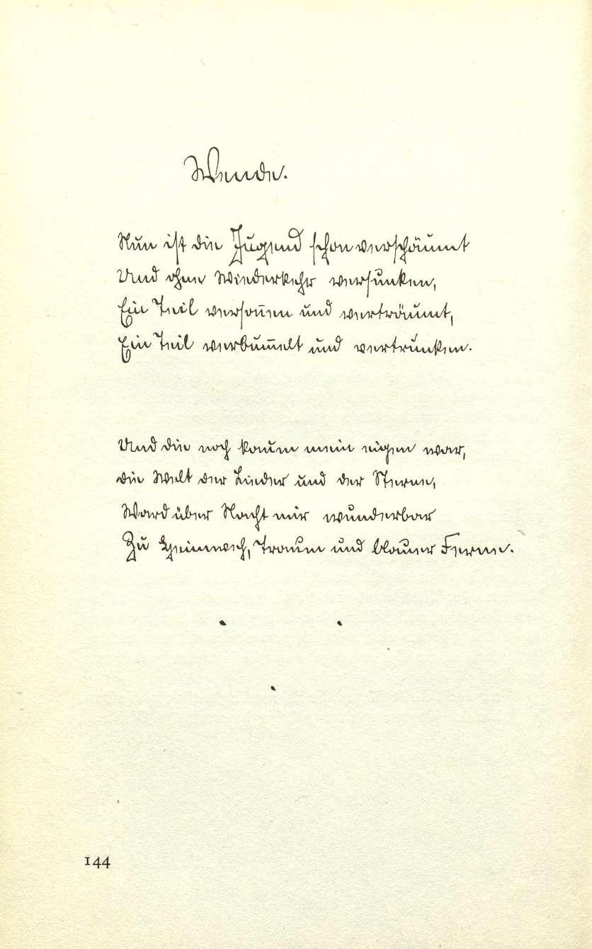Hermann Hesse zum 80. Geburtstag   Basler Jahrbuch 1958