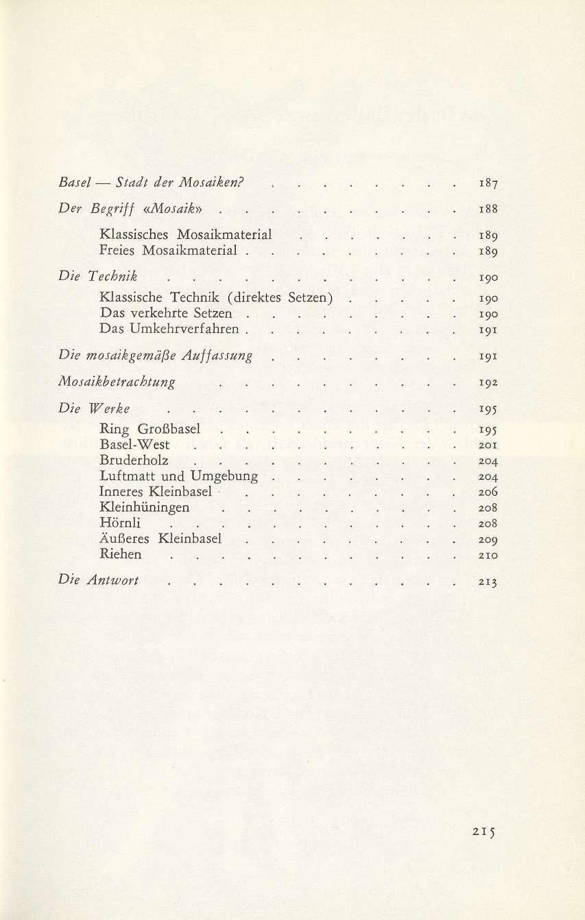 ns siedlungen in wien basel u2013 stadt der mosaiken basler stadtbuch 1967 homepage dstgb. Black Bedroom Furniture Sets. Home Design Ideas